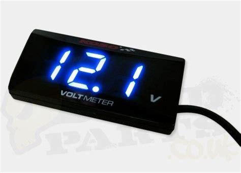 Voltmeter Koso koso digital volt meter pedparts uk