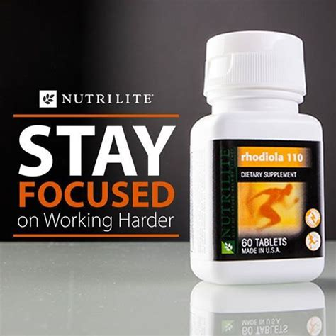 Nutrilite Detox by Stay Focused On Working Harder Maximize Mental Focus And
