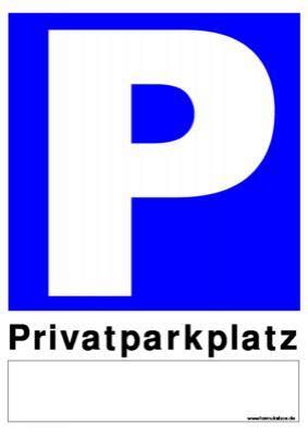 schild privatparkplatz vorlage muster zum ausdrucken