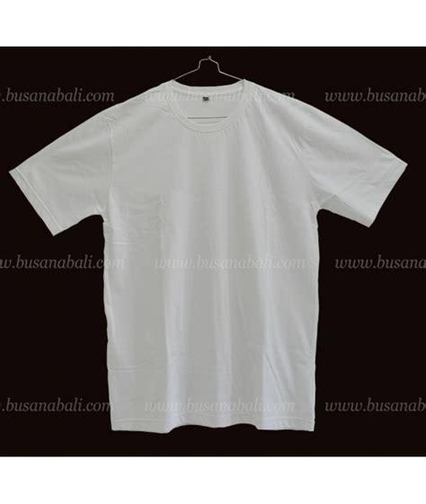 Kaos Oblong Souvenir Bali baju kaos putih polos lengan pendek kualitas export harga