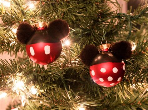 mickey and minnie ornaments diy mickey and minnie ornaments this tale
