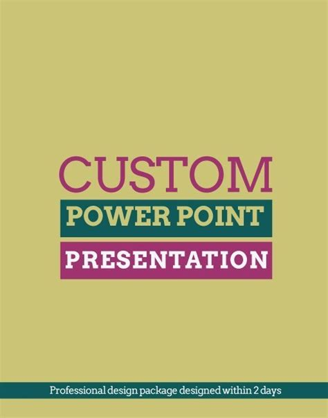 Custom 3d Ppt Presentation Design Custom Powerpoint Slides
