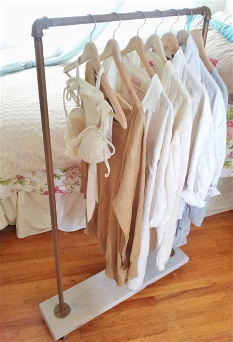 vintage gold garment racks eclectic clothes racks