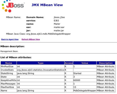 jmx console jms where to configure the org jboss ejb3 mdb