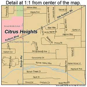 citrus heights california map citrus heights california map 0613588