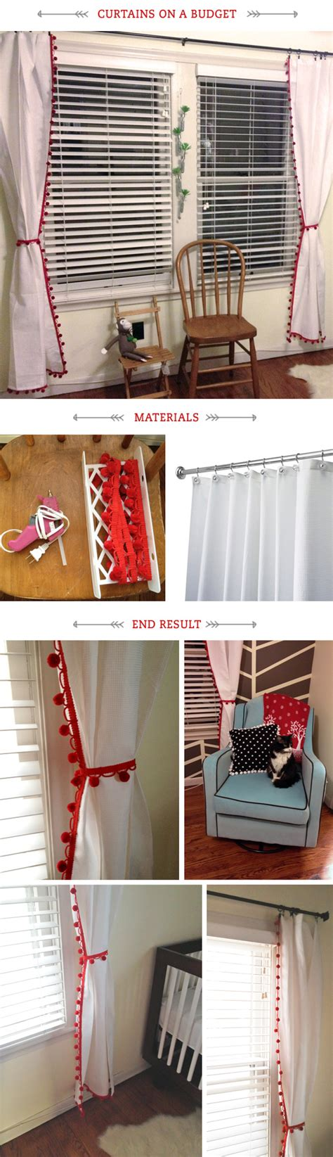 Diy Nursery Curtains Nursery Diy Curtains Amalia Misc