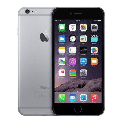 apple iphone 6 128gb verizon black space gray smartphone a1549 4g ios 8 cdma no contract cell phone