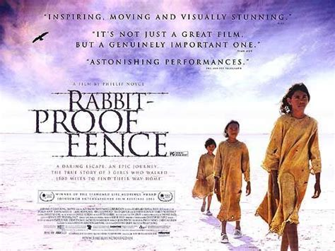 Rabbit Proof Fence 2002 Film Movie Review Rabbit Proof Fence Silver Screen Queen