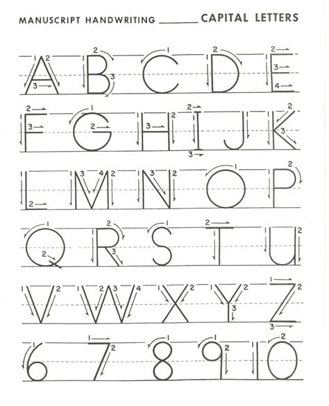Create Handwriting Worksheets