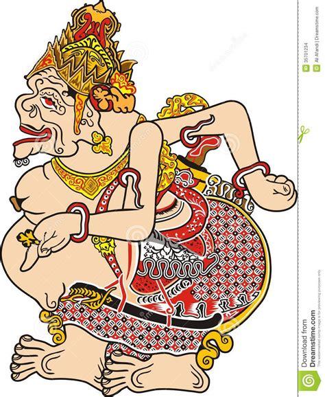 Akik Gambar Wayang Gunungan 8 is wolu btu motif semar