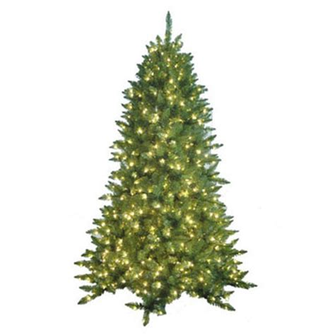pre lit christmas trees artificial christmas trees