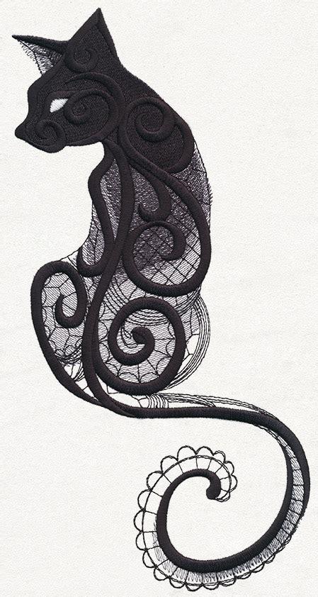 cat tattoo machine dark creatures cat urban threads unique and awesome