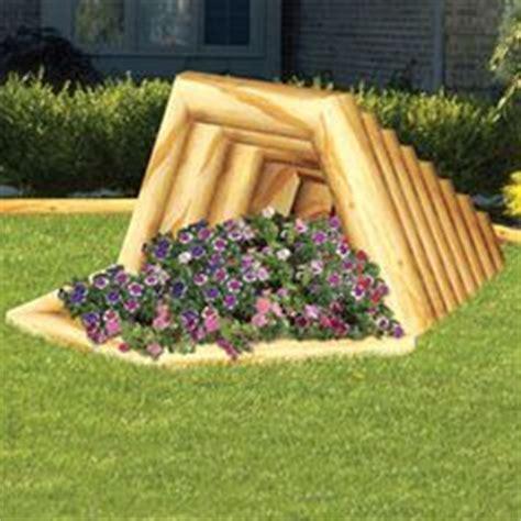 Landscape Timber Basket Landscape Timber Bowl Planter Craft Ideas