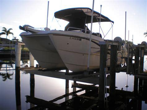 catamaran boat forum boat lift power catamaran reconfiguration the hull
