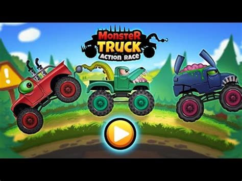 monster trucks you tube videos monster trucks action race racing action tiny lab games