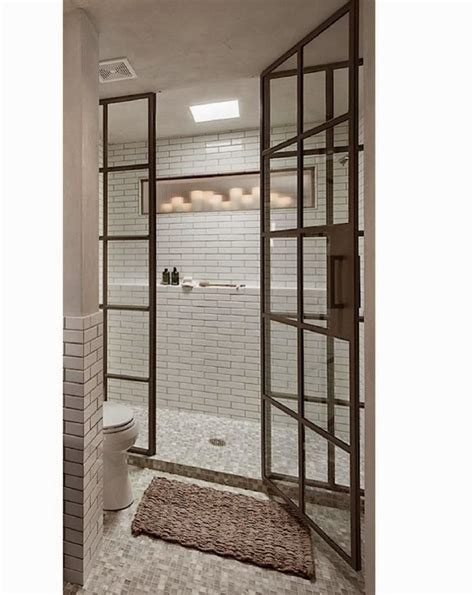 Shower Door And Window Let S Stay Industrial Steel Framed Doors Metal Frame Droos