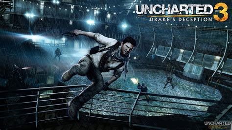wallpaper game play uncharted 3 gameplay wallpaper