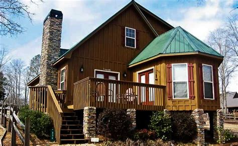 Small Lake Home Plans by Small Lake House Cabin The Vista Homes Pinterest
