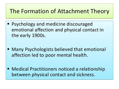 contact comfort psychology attachment theory developmental psychology