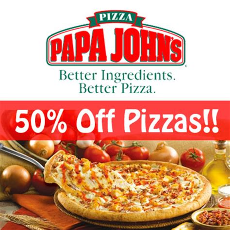 Groupon Papa John S Gift Card - papa johns coupons promo codes coupon codes 2015 caroldoey