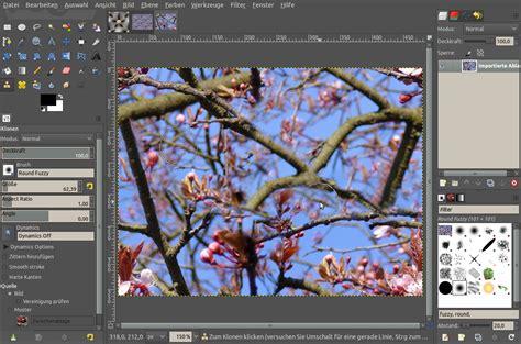 gimp tutorial klonen nahtlose und wiederholbare texturen erzeugen tutorials