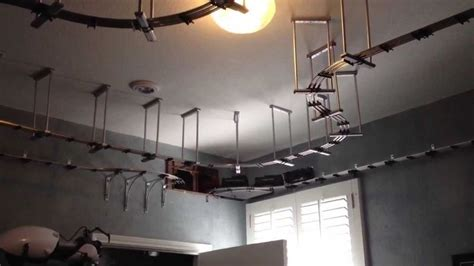 wall mounted train ceiling brackets   man cave