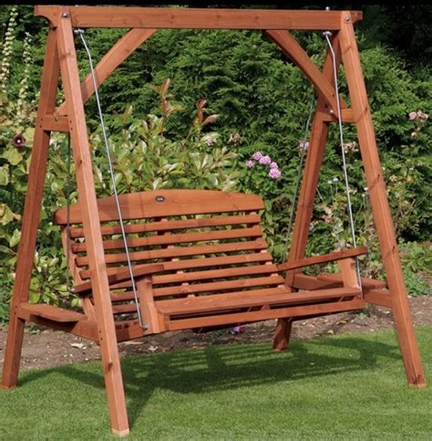 wooden garden swing seat uk apex garden wooden swing seat the garden factory