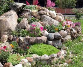 Rock In Garden Rock Garden Design Tips 15 Rocks Garden Landscape Ideas