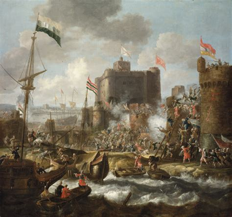 ottoman forces file ottoman forces attacking an islet fortress jpg