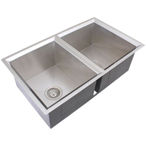 ticor s308 undermount 16 gauge stainless steel kitchen sink