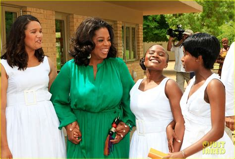 Oprah Winfrey Has From Crashing Weddings To Ruining Them by Oprah Winfrey Leadership Academy Graduation Photo