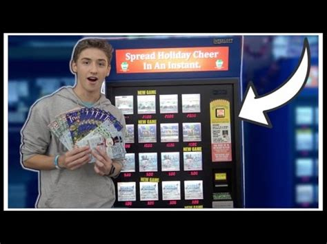 ★Lottery Ticket Machine GLITCH Gives Out FREE TICKETS ... Lottery Sodab