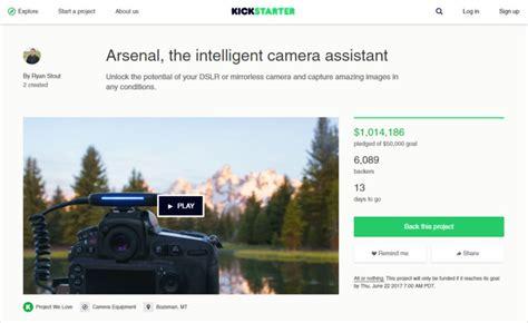 arsenal kickstarter arsenal tops 1 million on kickstarter for its smart