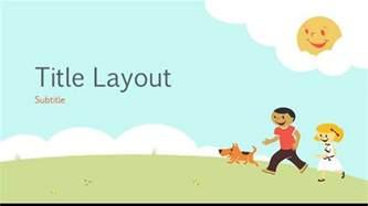 free children powerpoint templates free elementary school playground template free