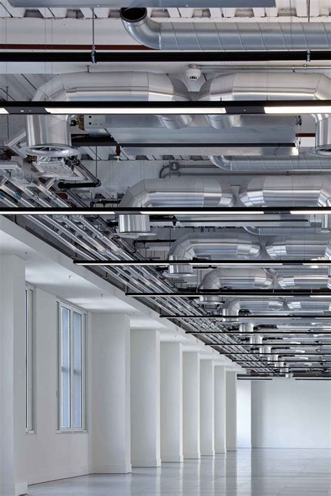 industrial ceiling caroline exposed services industrial white