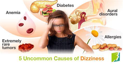 light headed dizzy spells 5 uncommon causes of dizziness