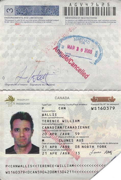 canadian passport template indelible adventures february 2013