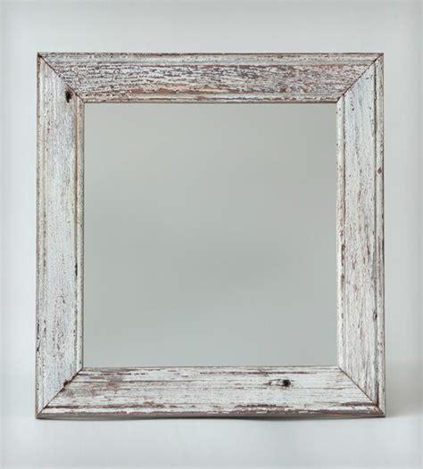 New London Reclaimed Barnwood Mirror   Home Decor