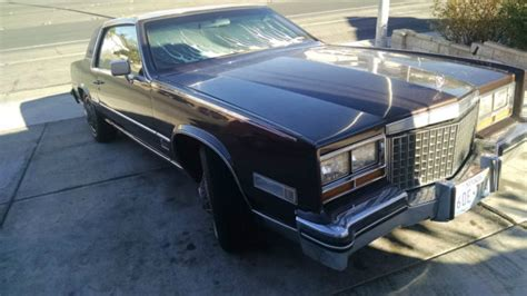 moon cadillac 1980 cadillac eldorado barritz with factory moon roof for