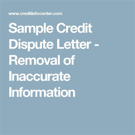 Credit Repair Letter Of Deletion best 25 credit dispute ideas on essay