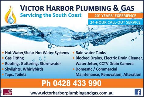 Southern Plumbing And Gas by Fleurieu Link Local Directory