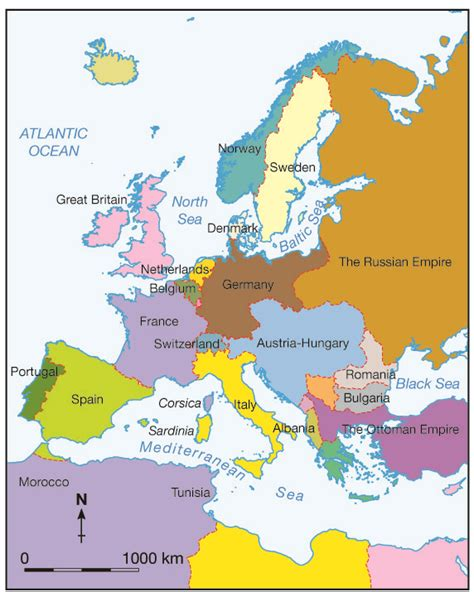 europe map before wwi map of europe map of europe before world war travelquaz com