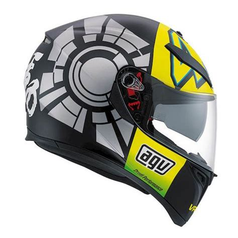 Helm Agv K3 Sv Winter Test Black agv k3 sv winter test 2012 helmet revzilla