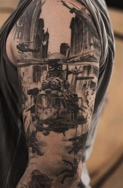 war sleeve tattoo designs 129 best tattoos images on