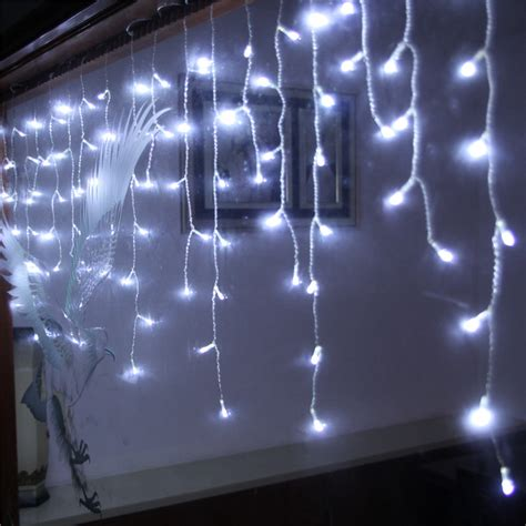 new 16m droop 0 75m 576 led icicle string light christmas
