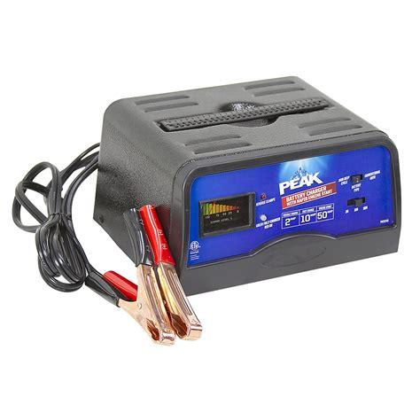 peak charger 2 10 50 12 volt peak pkc0c50 battery charger peak