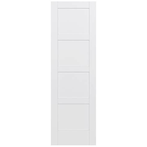 4 panel slab doors interior closet doors doors jeld wen 32 in x 96 in moda primed white 4 panel solid