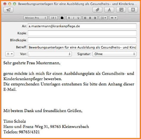 Bewerbung Per Email Anschreiben Mit Briefkopf 8 bewerbung email anschreiben timothy hodge