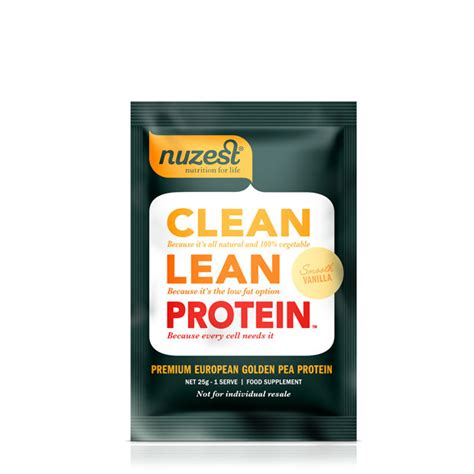 Shoo Clear Sachet clean lean protein single serve sachet nuzest uk