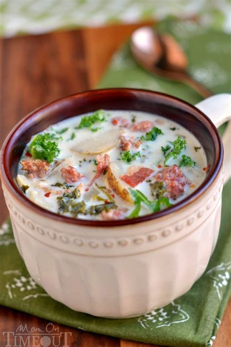 Oven Zuppa Soup just like olive garden s zuppa toscana soup favehealthyrecipes